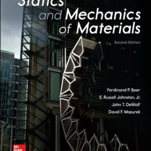 Solution Manual For Statics and Mechanics of Materials 2nd Edition By Beer