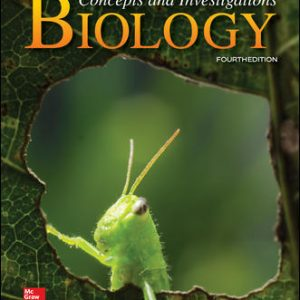 Solution Manual For Biology: Concepts and Investigations 4th Edition By Hoefnagels