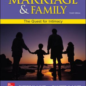 Solution Manual For Marriage and Family: The Quest for Intimacy 9th Edition By Lauer