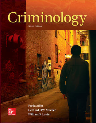 Solution Manual For Criminology 9th Edition By Adler