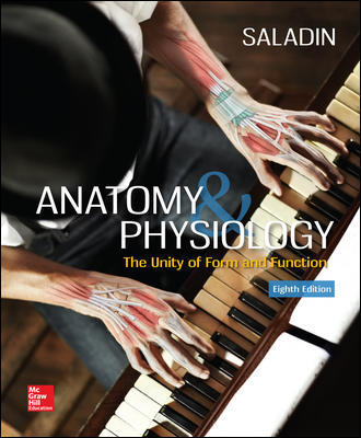 Test Bank For Anatomy & Physiology: The Unity of Form and Function 8th Edition By Saladin
