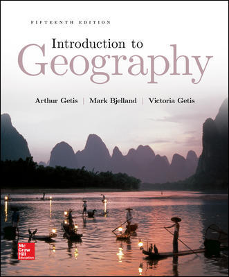 Solution Manual for Introduction to Geography 15th Edition By Getis