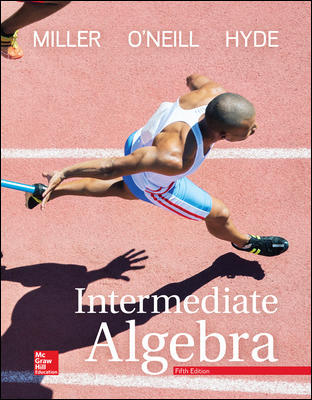 Solution Manual For Intermediate Algebra 5th Edition By Miller