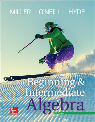 Solution Manual For Beginning and Intermediate Algebra 5th Edition By Miller