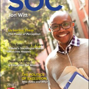 Solution Manual For SOC 2018 5th Edition View Latest Edition By Witt