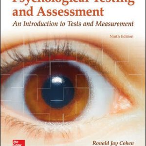 Solution Manual For Psychological Testing and Assessment 9th Edition By Cohen