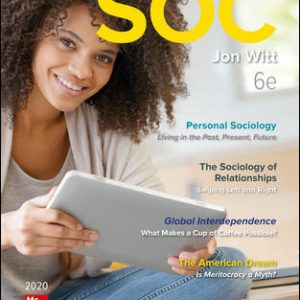 Solution Manual For SOC 2020 6th Edition By Witt