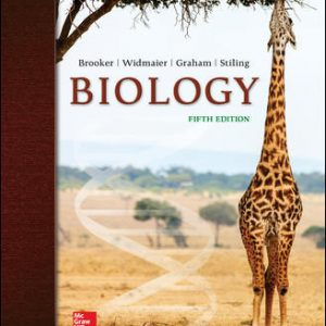 Solution Manual for Biology 5th Edition By Brooker