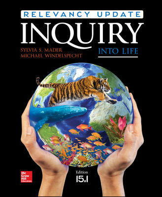 Solution Manual for Inquiry into Life: Relevancy Update 15th Edition By Mader