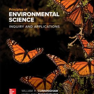 Solution Manual For Principles of Environmental Science 9th Edition By Cunningham