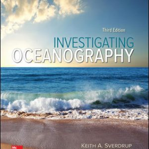 Test Bank Investigating Oceanography 3rd Edition By Sverdrup