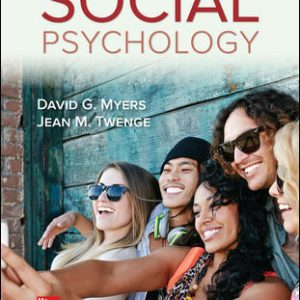 Solution Manual For Social Psychology 13th Edition By Myers