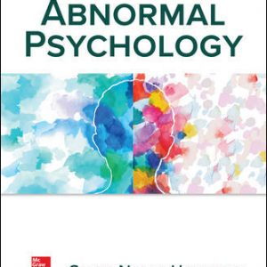 Test Bank For Abnormal Psychology 8th Edition By Hoeksema
