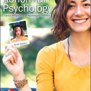 Solution Manual For Abnormal Psychology: Clinical Perspectives on Psychological Disorders 9th Edition By Whitbourne