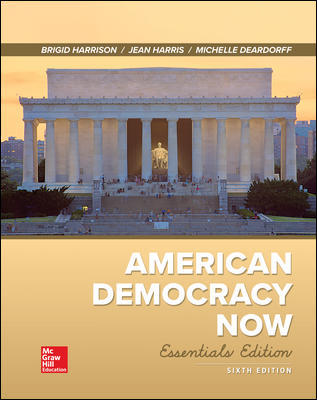 Solution Manual For American Democracy Now, Essentials 6th Edition By Harrison