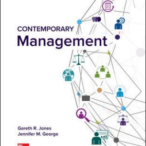 Solution Manual For Contemporary Management 11th Edition By Jones