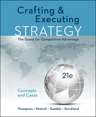 Solution Manual For Crafting & Executing Strategy: The Quest for Competitive Advantage: Concepts and Cases 21st Edition By Jr