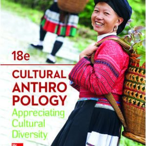 Solution Manual For Cultural Anthropology 18th Edition By Kottak