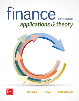 Solution Manual For Finance: Applications and Theory 5th Edition By Cornett