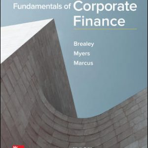 Solution Manual For Fundamentals of Corporate Finance 9th Edition By Brealey