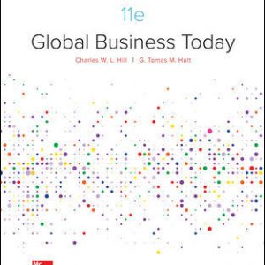 Solution Manual For Global Business Today 11th Edition By Hill
