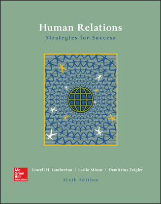 Solution Manual For Human Relations 6th Edition By Lamberton