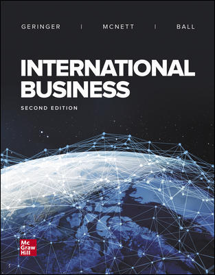 Solution Manual For International Business 2nd Edition By Geringer