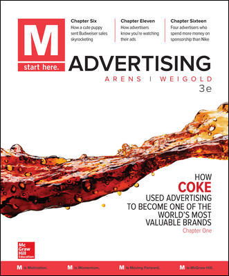 Solution Manual For M: Advertising 3rd Edition By Arens