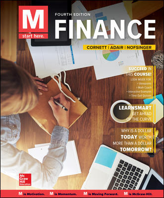 Solution Manual For M: Finance 4th Edition By Cornett