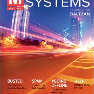 Solution Manual For M: Information Systems 4th Edition By Baltzan