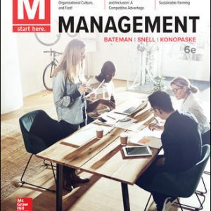 Solution Manual For M: Management 6th Edition By Bateman