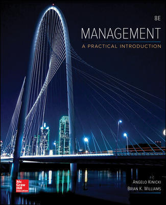 Solution Manual For Management Looseleaf 8th Edition By Kinicki