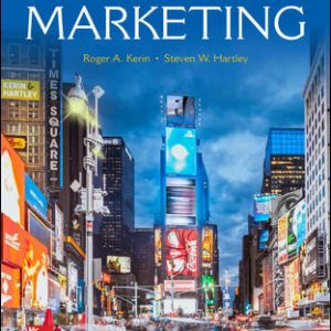 Solution Manual For Marketing 14th Edition By Kerin