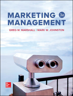 Solution Manual For Marketing Management 3rd Edition By Marshall
