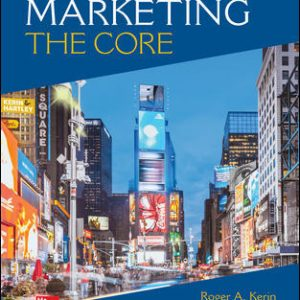 Solution Manual For Marketing: The Core 8th Edition By Kerin