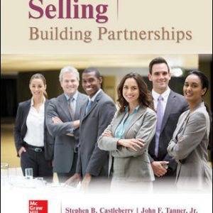 Solution Manual For Selling: Building Partnerships 10th Edition By Castleberry