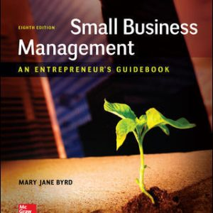 Solution Manual For Small Business Management: An Entrepreneur's Guidebook 8th Edition By Byrd