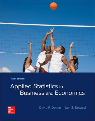 Solution Manual for Applied Statistics in Business and Economics 6th Edition By Doane