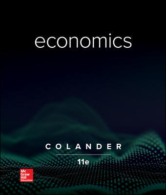 Solution Manual for Economics 11th Edition By Colander