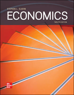 Solution Manual for Economics 12th Edition By Slavin