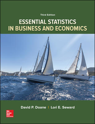Solution Manual for Essential Statistics in Business and Economics 3rd Edition By Doane
