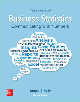 Solution Manual for Essentials of Business Statistics 2nd Edition By Jaggia