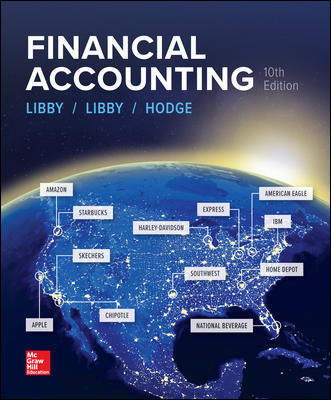 Solution Manual for Financial Accounting 10th Edition By Libby