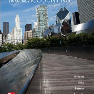 Solution Manual for Financial Accounting 17th Edition By Williams
