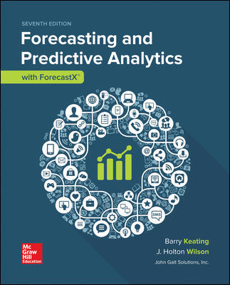 Solution Manual for Forecasting and Predictive Analytics with Forecast X (TM) 7th Edition By Keating