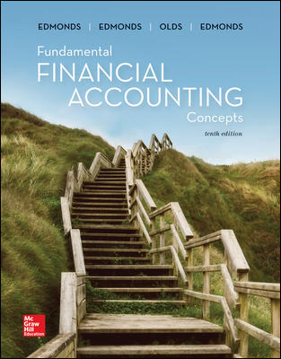 Solution Manual for Fundamental Financial Accounting Concepts 10th Edition By Edmonds