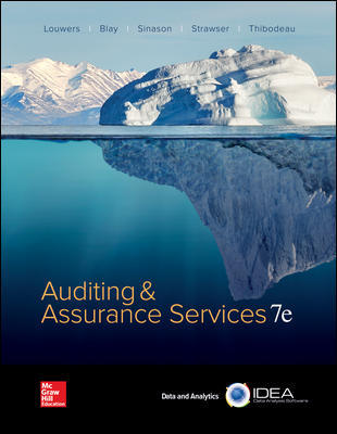 Solution manual for Auditing & Assurance Services 7th Edition By Timothy Louwers