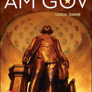 Test Bank For AM GOV 2019-2020 6th Edition By LoscoTest Bank For AM GOV 2019-2020 6th Edition By Losco