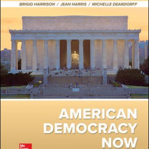 Test Bank For American Democracy Now 6th Edition By Harrison