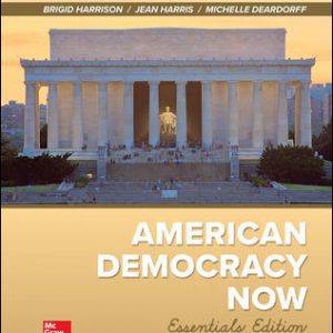Test Bank For American Democracy Now, Essentials 6th Edition By Harrison